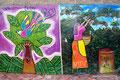 El Salvador_La Palma_Wandmalerei1