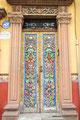 Mexiko_Hochland_San Miguel de Allende_Bunte Tür