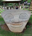 Kolumbien_San Augustín_Archäologischer Park_Aus Vulkangestein6