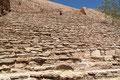 Mexiko_Hochland_La Quemada_Ganz schmale Stufen