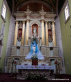 Mexiko_Hochland_Zacatecas_Hauptaltar der Domingo