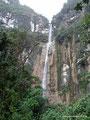 Peru_Cuispes_Oberer Teil des Yumbilla Wasserfalls