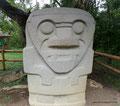 Kolumbien_San Augustín_Archäologischer Park_Aus Vulkangestein4