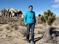 USA_Kalifornien_Mojave National Preserve_Simone und kleiner Joshua