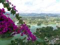 Kolumbien_Guatapé_Sicht von oben über den See10