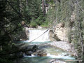 Kanada_Alberta_Banff NP_Wasserfälle entlang des Johnston Canyons2