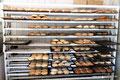 Mexiko_Baja California_Santa Rosalia_Beim Bäcker - Kleine Auswahl an süßen Stückchen