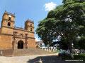 Kolumbien_Barichara_Kirche am zentralen Platz2