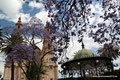 Mexiko_Hochland_Lagos de Moreno_Zentraler Platz mit Kathedrale