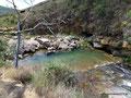 Kolumbien_Fluss Curití_Badelöcher3