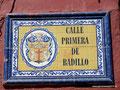 Kolumbien_Cartagena_Straßenschild1