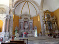 Kolumbien_Cartagena_Altar einer Kirche
