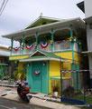 Panama_Bocas del Toro_Buntes Karibikhaus