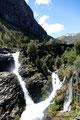 Chile_Laguna del Laja NP_Wasserfall1