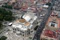 Mexiko_Mexiko-City und Umgebung_Mexiko-City_Palast der schönen Künste vom lateinamerikanischen Turm