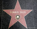 USA_Kalifornien_Los Angeles_Hollywood_Walk of Fame-Donald