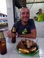 Kolumbien_Girón_Fleisch und Bier