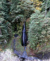 USA_Oregon_Columbia River Gorge National Scenic Area_Eagle Creek Trail - Wasserfall ohne Namen1