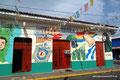 Nicaragua_León_Geschichte auf der Hauswand