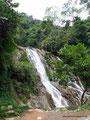 Kolumbien_Wasserfall an der Straße