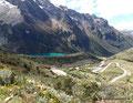 Peru_Cordillera Blanca_Lagune und Serpentine
