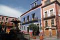 Mexiko_Hochland_Guanajuato_Einer der vielen Plätzen