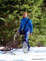 Kanada_New Brunswick_Fundy NP_Erster Schneeschuhtag