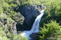 Argentinien_Ruta 7 Lagos_Wasserfall Vuliñanco2