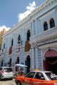Mexiko_Yucatán Halbinsel_Mérida_Volle Straßen