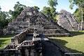 Guatemala_Norden_Yaxhá NP_Einer der Hauptplätze
