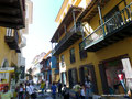 Kolumbien_Cartagena_Straße2