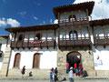 Peru_Chacas_Geschnitzter Balkon