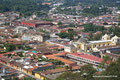 Guatemala_Westen_Antigua_Innenstadt von oben
