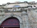 Kolumbien_Cartagena_Fasade der Inglesia de San Pedro Claver