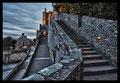 Aufstieg zum Mont Saint-Michel