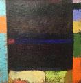 Facing East  oil on linen 52 x 52 cm