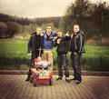 05.12.2014 - Oli, Timo, Robin und Totti