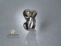 Geiger Goldschmiede Silberring mit Perle  Goldschmiedekunst in formvollendung