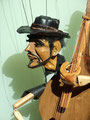 Marionette Kontrabass