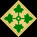 Taktisches Zeichen 4th ID - Ivy Division