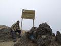 auf dem Gipfel des Rucu Pichincha