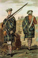 Soldats des highlands en 1744