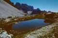 Lago di Lavaredo - ein kleines Bergseelein