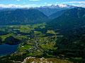 Altaussee und Ausserland bis Dachstein vom Losergipfel