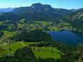 Altausseer See, Altaussee und Sandling vom Tressenstein