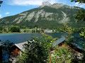 Altausseer See mit Altaussee-Fischerdorf und Loser