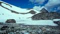Das letzte Stück zum Kl. Grießkogel mussten Schneefelder gequert werden.
