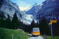 Oberer Grindelwaldgletscher von der Straße Gr. Scheidegg - Grindelwald