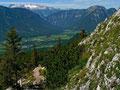 Abstieg Richtung Gathof Trisselwand