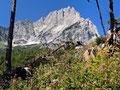 Die Spitzmauzer vom Aufstiegsweg zum Prielschutzhaus